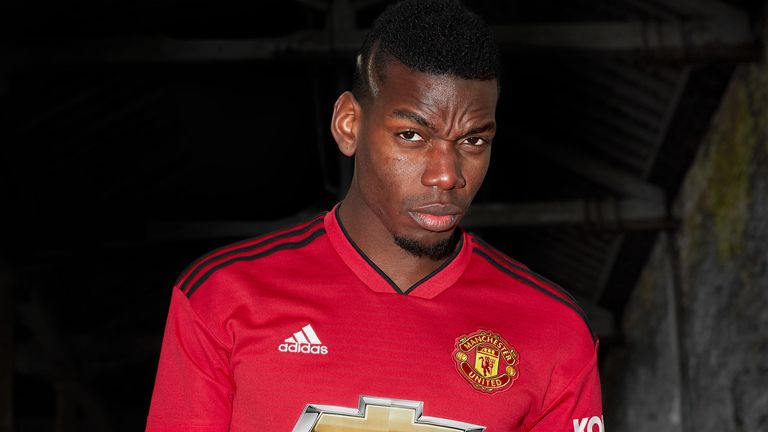 Pogba is yet to return for pre-season with Manchester United due to the World Cup