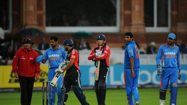 The rain hammers down at Lord's as Ravi Bopara and Graeme Swann can't quite guide England to victory