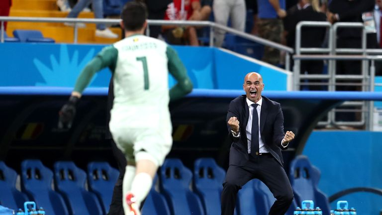 Roberto Martinez led Belgium to the bronze medal