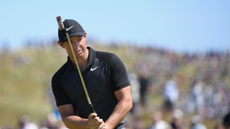 McIlroy heads into the weekend seven off the pace