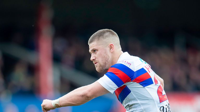 Ryan Hampshire converted Wood's late try and put over a penalty to level things with five minutes to go