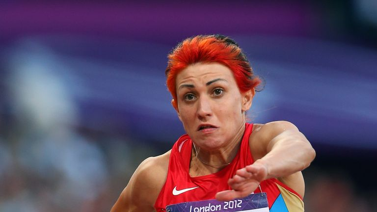 Russian athlete Tatyana Lebedeva has been banned for doping offences