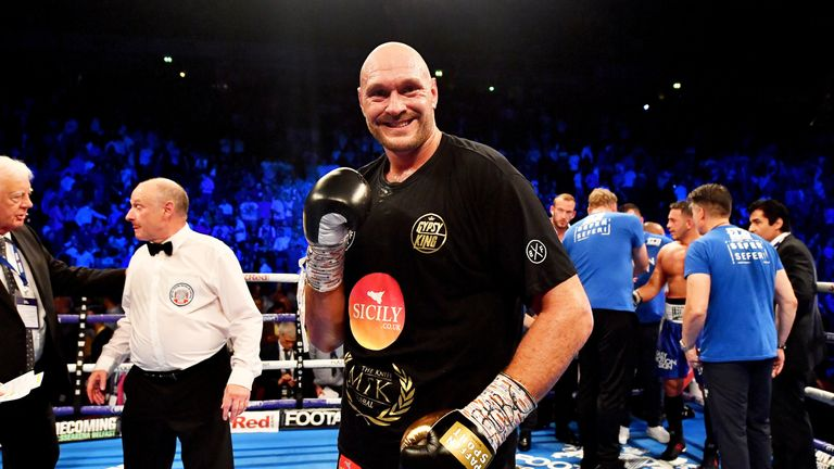 Tyson Fury returns to the ring at Windsor Park in Belfast in August