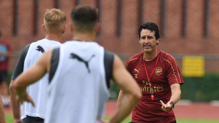Emery starts his Arsenal career against Manchester City at the Emirates on Sunday