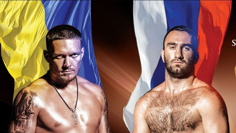 Oleksandr Usyk or Murat Gassiev will soon hold all four cruiserweight titles