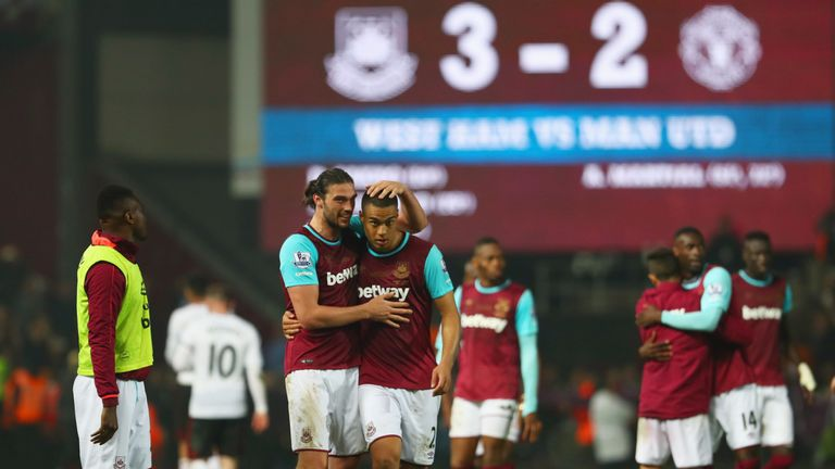 Andy Carroll and Winston Reid are both struggling with existing injuries
