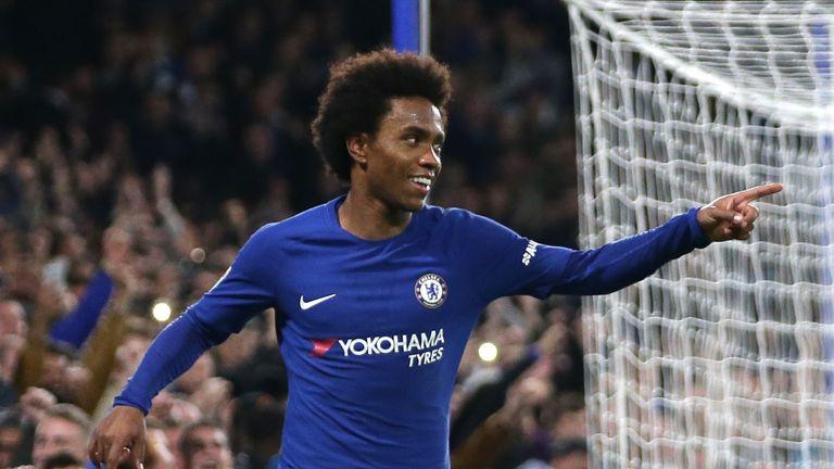 Chelsea accept £67m bid from Barcelona for Willian