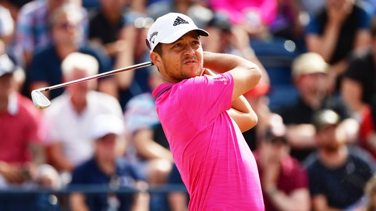 Xander Schauffele has enjoyed good results in the big events this year