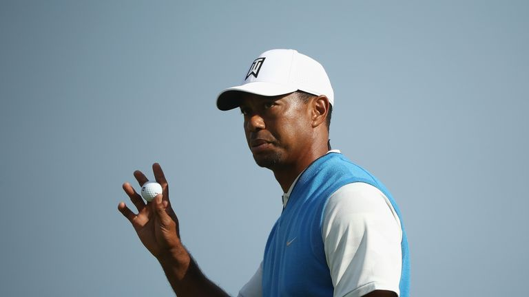 Woods is making his first Open appearance since 2015