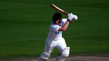 Harry Finch helped Sussex take control on day three with his second-innings 98