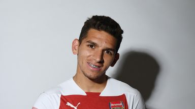 Lucas Torreira will begin training with his new Arsenal team-mates at the start of next month