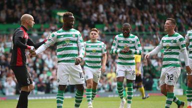 Moussa Dembele scored twice in Celtic's Champions League win