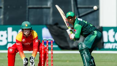 Sarfraz Ahmed steered Pakistan to victory with an unbeaten 38