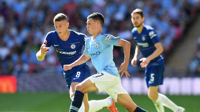 Phil Foden is making a strong case to feature regularly this season