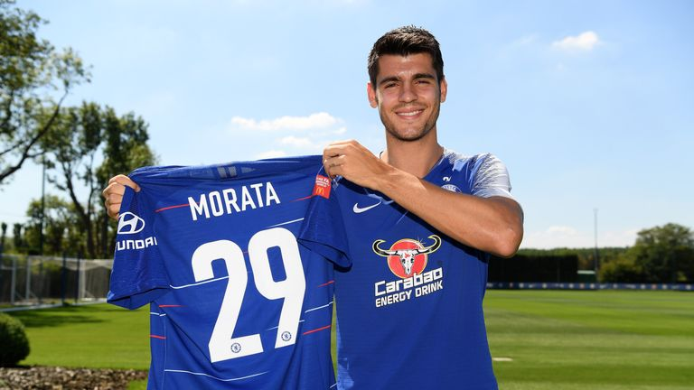 EPL: Why I dropped Chelsea's No.9 shirt - Morata
