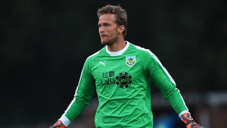 Anders Lindegaard is set to start for Burnley