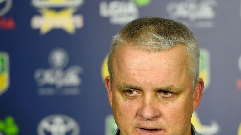 Anthony Griffin has left his position as Penrith coach with immediate effect
