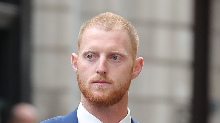 Bodycam footage released of England cricketer Ben Stokes arrest