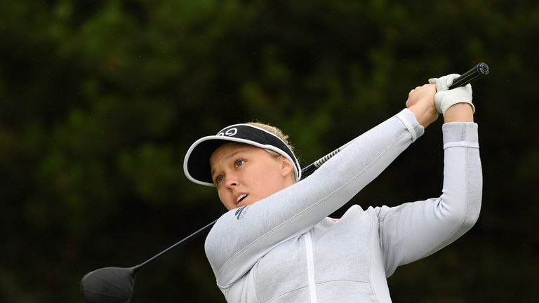 Brooke Henderson shoots hole in one at Women's British Open