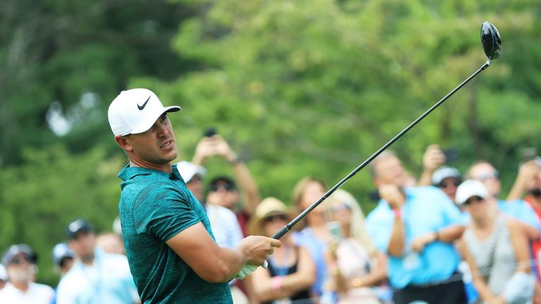 Brooks Koepka won two of the three majors he played in this year