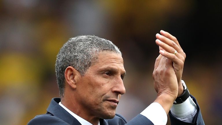 Chris Hughton admitted that Brighton deserved to lose against Watford