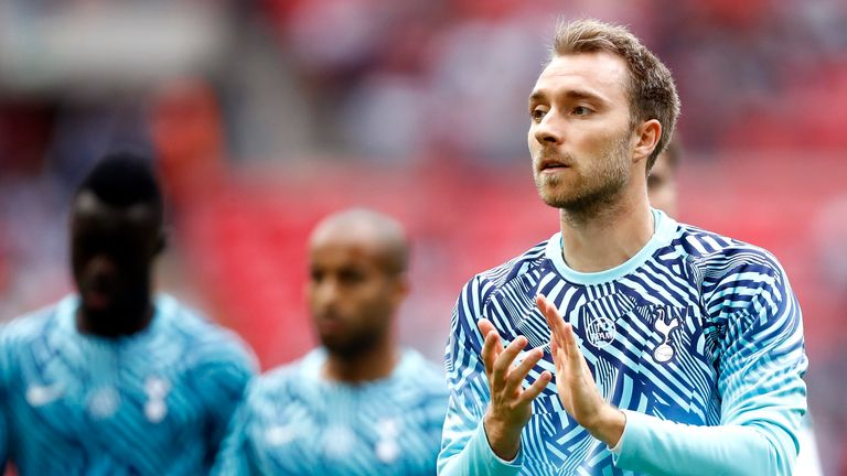 PSG rubbish transfer reports of interest in Tottenham's Christian Eriksen
