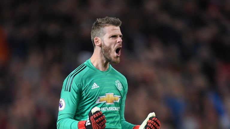 David de Gea is preferred to Hugo Lloris
