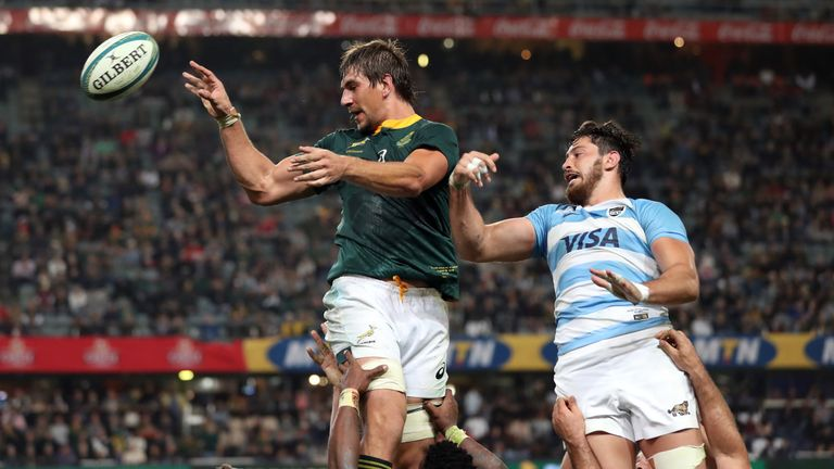 Eben Etzebeth Made An Impressive Return To Action For The Springboks