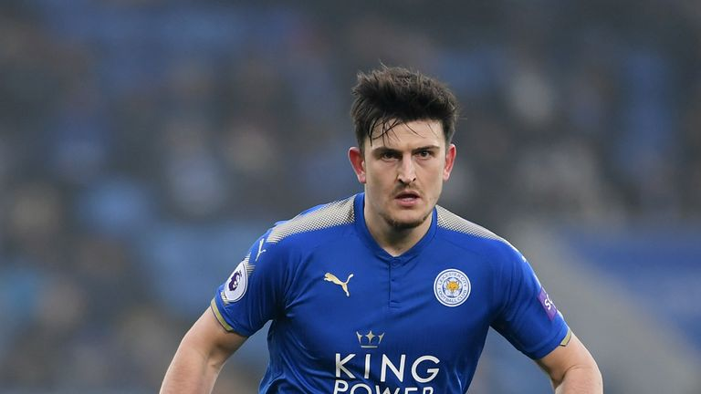 Harry Maguire was a summer transfer target for Manchester United