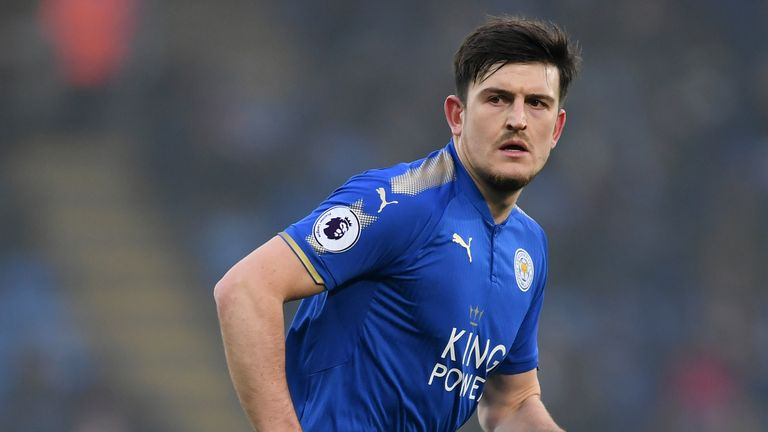 Harry Maguire is expected to start for Leicester at Old Trafford on Friday after being a Manchester United target