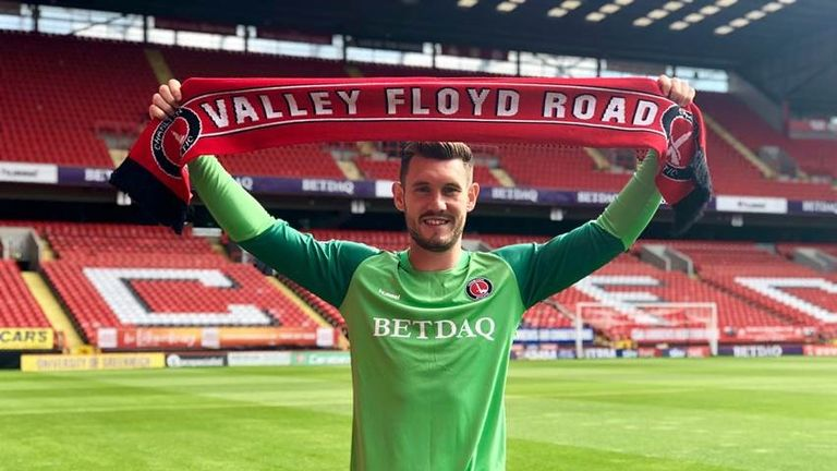 Jed Steer has joined Charlton Athletic
