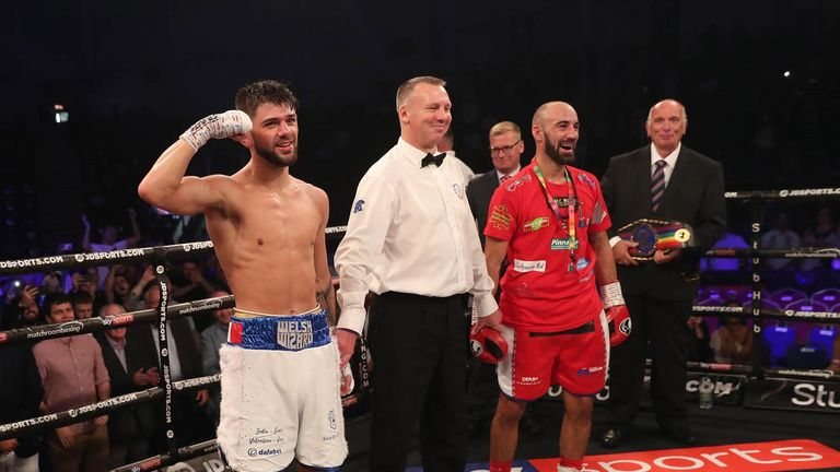 Cordina took the result on all three of the judges' scorecards