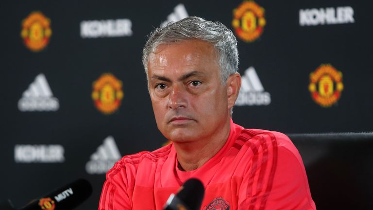 Mourinho makes 'head coach' jibe after transfer frustration