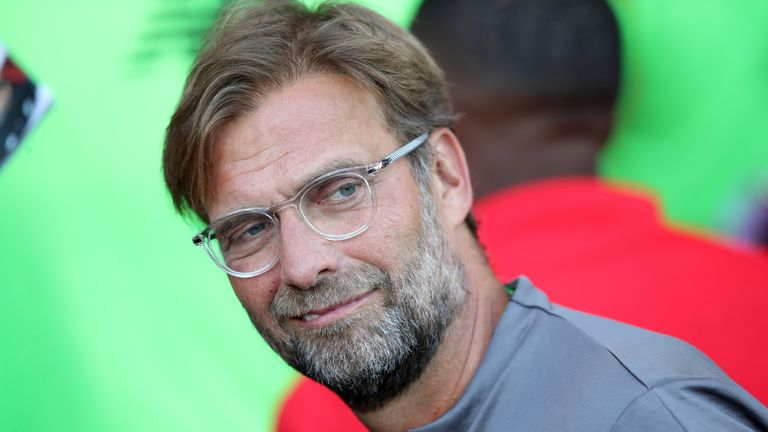 Jurgen Klopp says his players have forgotten about what happened in Kiev in May