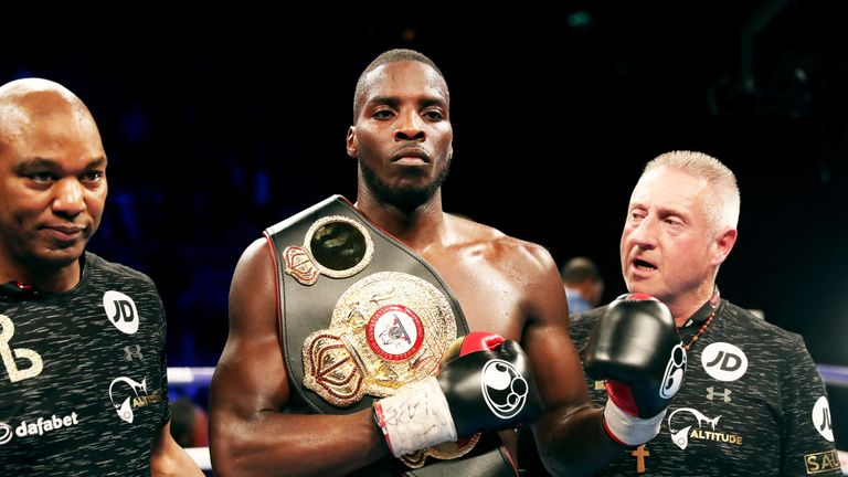 Lawrence Okolie hopes to challenge for a world title in the future