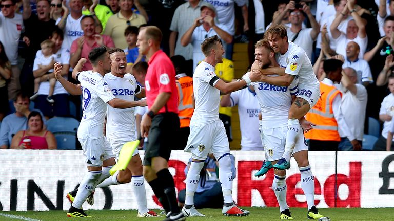 Leeds saw off Stoke 3-1 in the Championship on Sunday