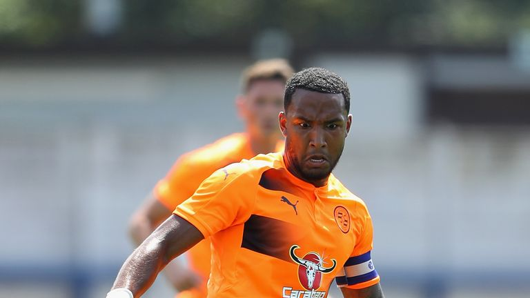 Liam Moore was in action for Reading during pre-season but did not feature against Derby on Friday