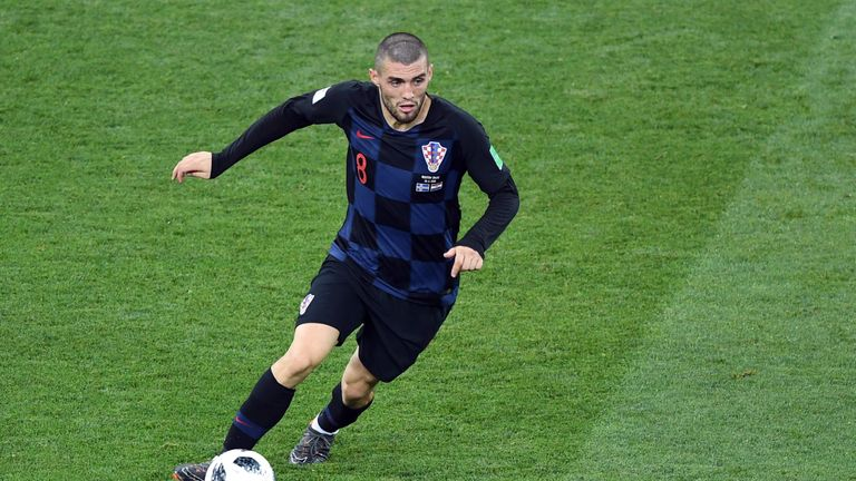 Kovacic played five times for Croatia at the World Cup in Russia