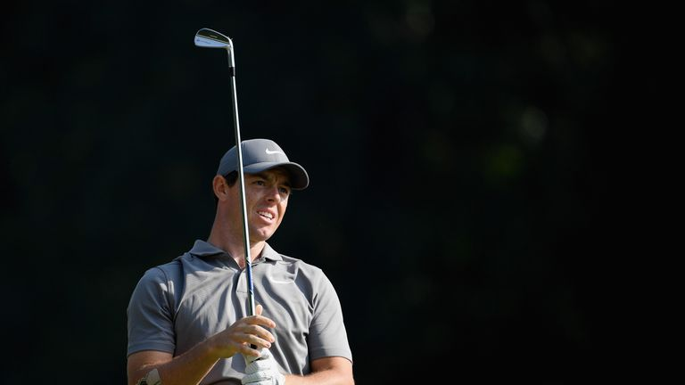 McIlroy has slipped 10 strokes off the lead