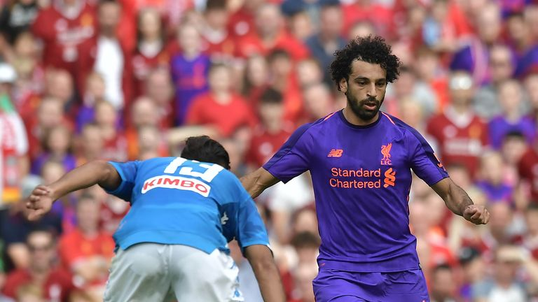 Mohamed Salah scored for Liverpool