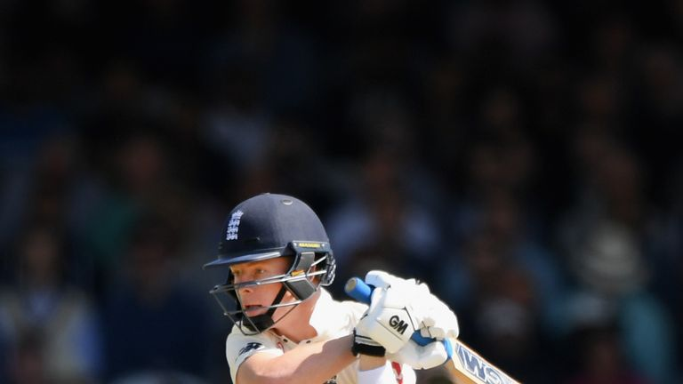 Ollie Pope looked comfortable at Test level on his debut at Lord's