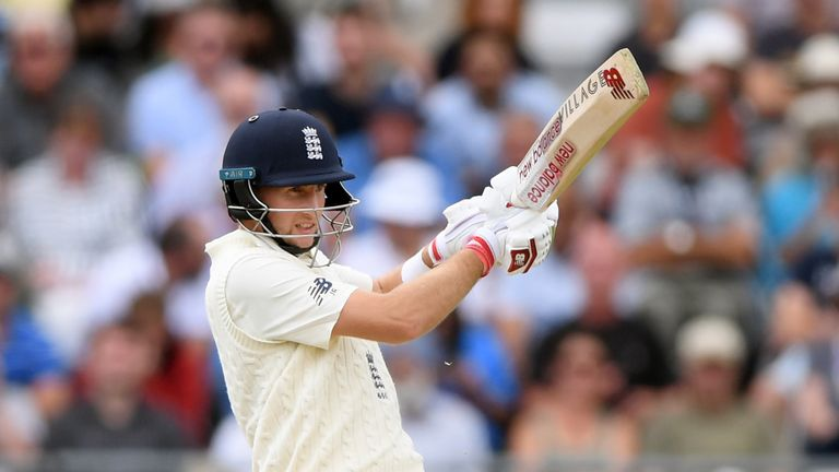 Root's half-century was his 41st in Test match cricket
