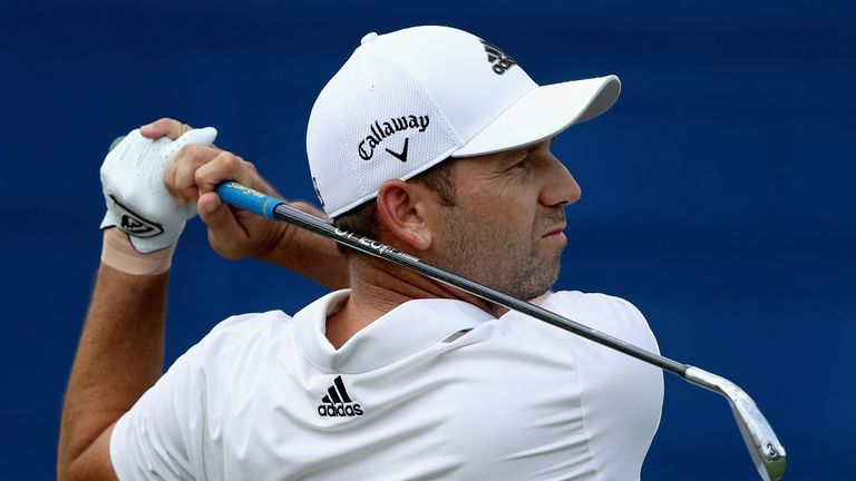 Sergio Garcia is five off the lead at halfway