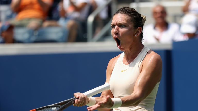 Simona Halep knocked out in first round of U.S. Open