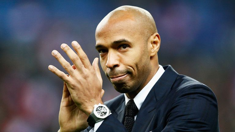 Thierry Henry 'wants' to become Bordeaux manager, reveals Arsene Wenger