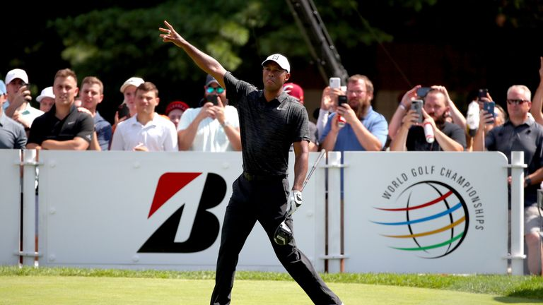 Tiger Woods is targeting a Saturday charge but will focus on finding fairways