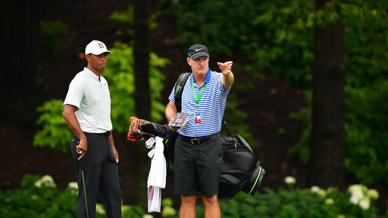 Tiger Woods battles inflammation 'everywhere' this week at PGA Championship