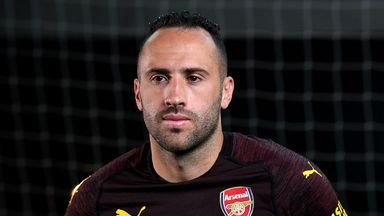 fifa live scores - Arsenal goalkeeper David Ospina to have Napoli medical ahead of loan move