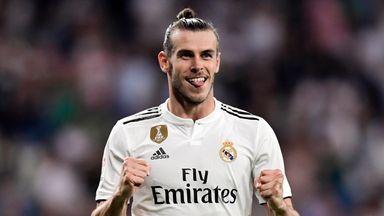 Gareth Bale scored for Real Madrid