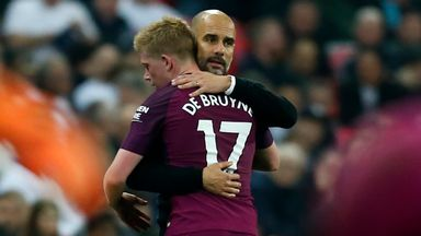 fifa live scores -                               'Pep can deal with De Bruyne absence'